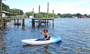 Hidden Treasure Tiki Bar & Grill: Kayak or Stand-Up Paddle Board Rental for Two or Four from Hidden Treasure Tiki Bar & Grill (Up to 40% Off)