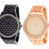 Fortune NYC Women's Quilted Pattern Watch