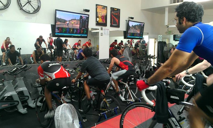 TRIMORE Fitness - Corte Madera: One Month Unlimited or Ten Drop-in Computrainer Cycling Classes at TRIMORE Fitness (Up to 75% Off)