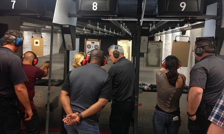 Shooting-Range or Intro to Firearms Package for Two at San Diego Firearms Training Center (Up to 37% Off)