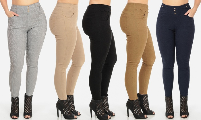 Women's High Waist Dress Pants | Groupon Goods