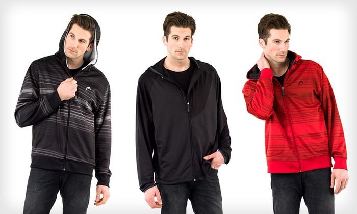 Head Men's Full-Zip Hoodies: $28 for a Head Men's Full-Zip Hoodie (Up to $55 List Price). 16 Options Available. Free Returns.