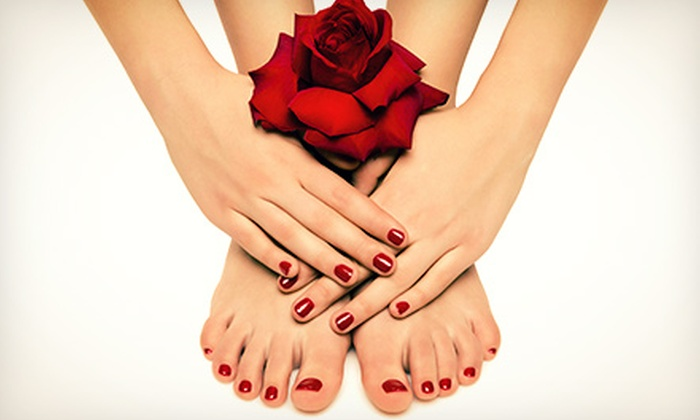 Infinity Day Spa - Crystal Lake: Classic Spa Pedicure or Classic Spa Mani-Pedi at Infinity Day Spa (Up to 56% Off)