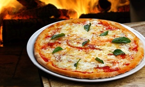 Dolce Vita Wood Fired Pizza: Pizzeria Food and Drinks at Dolce Vita Wood Fired Pizza (Up to 40% Off). Four Options Available.