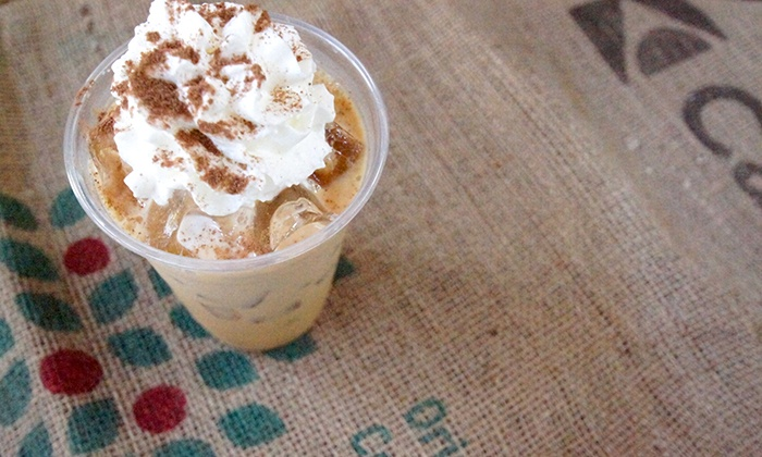 Grounds Cafe - Wendell: One or Six Coffees, or $15 Worth of Food and Drink at Grounds Cafe (Up to 42% Off)