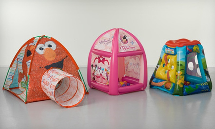 Cartoon Play Tents and Ball Pits Licensed Cartoon Play Tents and Ball Pits (Up ... & Play Tents and Ball Pits | Groupon Goods
