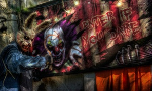 Scream Hollow Wicked Halloween Park: Death by Chocolate Masquerade for One or Two on February 13 at Scream Hollow Wicked Haunted House  (14% Off)