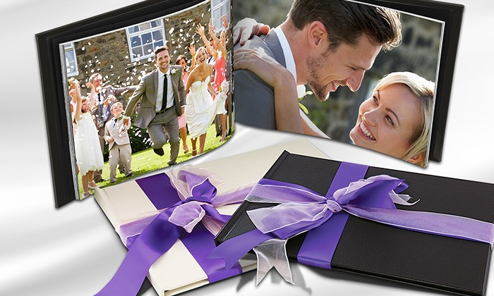Fotolibro Valentino A4 in pelle | Groupon Goods
