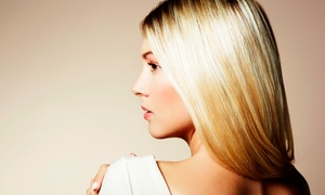 Mi Vida: Cut and Blow-Dry (£16) or Half-Head Highlights and Conditioning Treatment (£24) at Mi Vida (Up to 65% Off)