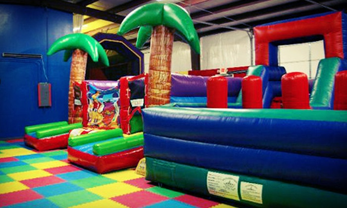 Bounce Town - Plano: One Week of Kids' Summer Camp for One or Two, or Birthday Party for Up to 20 at Bounce Town (Up to 51% Off)