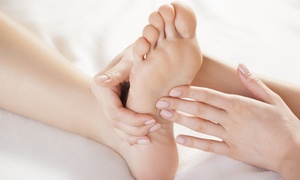 Massage Therapy Works: $35 for 45-Minute Acupressure Treatment with Hot Stone and Foot Bath at Massage Therapy Works ($90 Value)