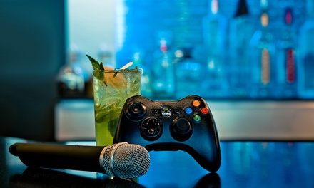 Drinks or Two-Hour Karaoke- and Gaming-Room Rental at Nocturna Lounge (Up to 76% Off)