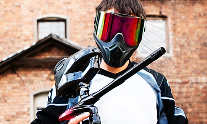 Paintball Wars - South Antelope Valley: Paintball Play Package for One, Two, or Four at Paintball Wars (Up to 58% Off)