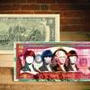 The Beatles Pop-Art Colorized $2 Bills