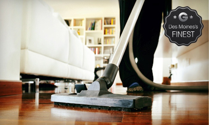The Clean Up Women Inc. - Des Moines: Housecleaning for 5, 7, or Up to 10 Rooms from The Clean Up Women Inc. (Up to 61% Off)