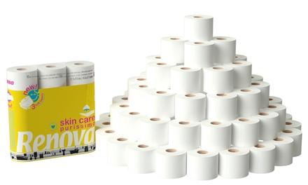 60 Rolls of Renova Toilet Paper