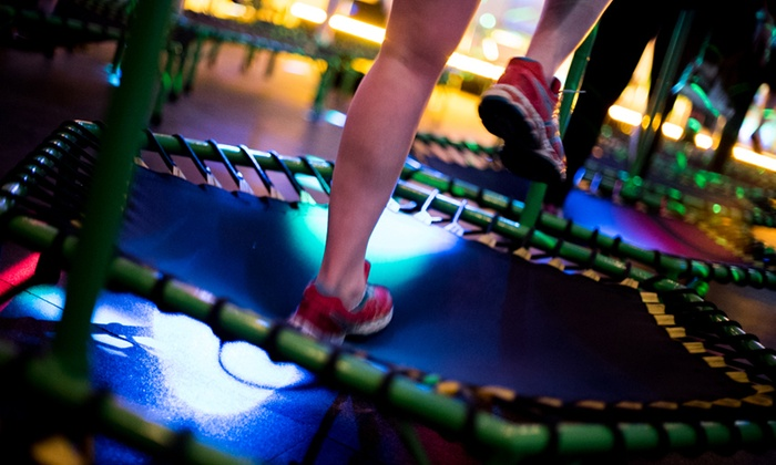 JumpLife - Tribeca: Three or Five Trampoline Fitness Classes at JumpLife (Up to 47% Off)
