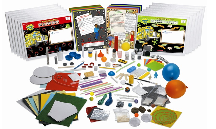 The Young Scientists Club: 12-Month Subscription fort The Magic School Bus STEM Kits from The Young Scientists Club (50% Off)