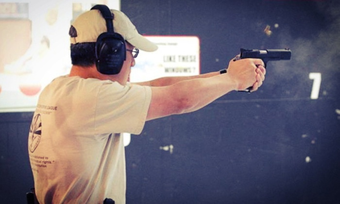 Ted's Shooting Range - Queen Creek: Shooting-Range Packages with Select Arms at Ted's Shooting Range in Queen Creek (Up to 53% Off). Four Options Available.