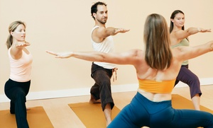Heather Black Yoga: Five Yoga Classes at Heather Black Yoga (64% Off)