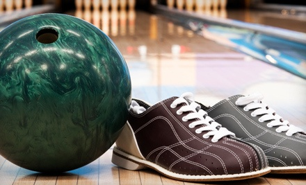 Bowling Package for 2: 1 Large Soft Drink per Person, 2 Games of Bowling, and Shoe Rental - Town 'N Country Bowl in Vancouver