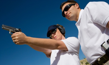 Basic Firearms-Safety or Concealed-Carry Class for One or Two at Down Range Firearms Training (Up to 61% Off)