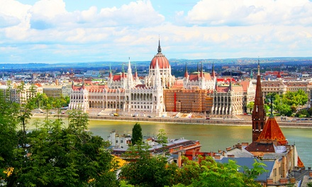 ✈ Prague and Budapest or Vienna: 4 or 6 Nights with Train Transfers and Flights*
