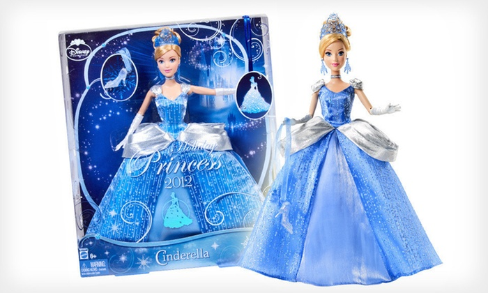 Disney Princess Cinderella Holiday Doll: $10 for a Disney Princess Cinderella 2012 Holiday Doll ($34.99 List Price)