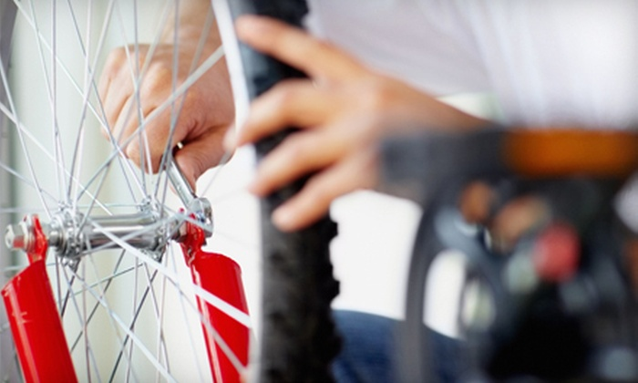 Peterson Bicycle - Renton: Bike Tune-Up with Optional Drivetrain Cleaning at Peterson Bicycle (Up to 56% Off)
