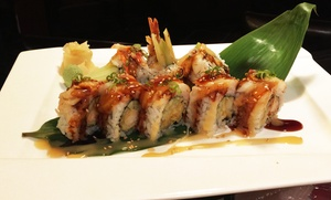Tisumi Japanese Restaurant: Japanese Dinner at Tisumi Japanese Restaurant(32% Off). Two Options Available.