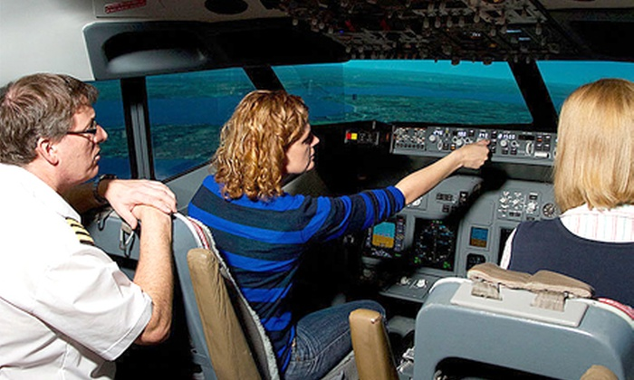 SIMSPOT - Nottingham: Boeing 737 Flight Simulator Session For Two at The Cornerhouse for £59 with Simspot (40% Off)