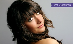 Solaire Hair Studio and Spa: Haircut with Full Color or Full Highlights at Solaire Hair Studio and Spa (Up to 54% Off)