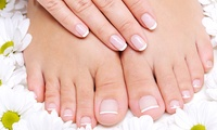 GROUPON: 54% Off Spa Mani-Pedi with a Peppermint Scrub Xiu Xiu Nail Spa