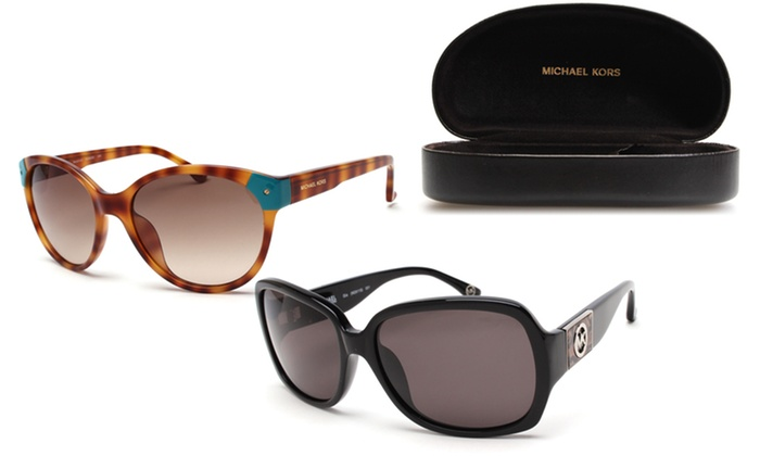Michael Kors Jardines Sunglasses  michael kors women s sunglasses groupon goods