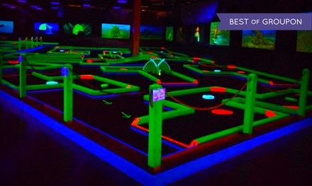 Mini Golf for Two or Four at Lunar Mini Golf (Up to 50% Off)