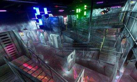 Three Laser-Tag Missions for Two or Four People at LazerTag Extreme (54% Off)