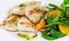 3-Gänge-Menü mit Fisch-Platte