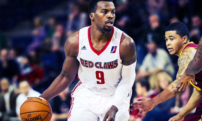 Maine Red Claws - Portland Expo: Maine Red Claws Basketball with Food at Portland Expo on March 14 or 28 (Up to 55% Off). Two Seating Options Available.