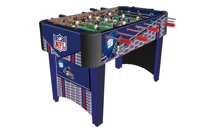 New York Giants Foosball Table