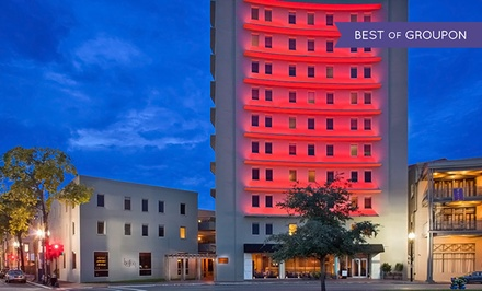 Stay at The Hotel Modern New Orleans. Dates into August.