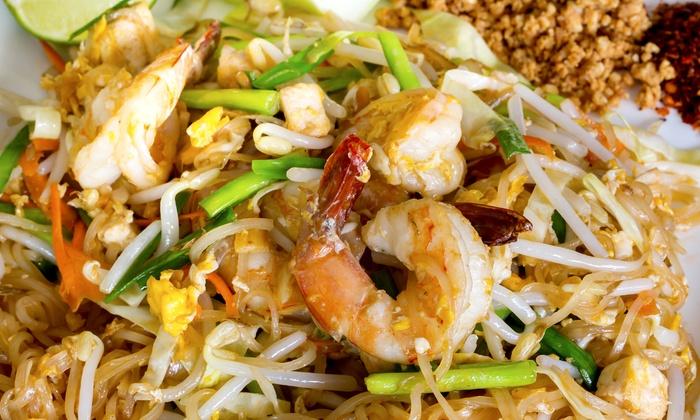 Lemon Basil Restaurant - Huntingdon Valley: Thai Fusion Cuisine at Lemon Basil Restaurant (Up to 50% Off). Three Options Available.