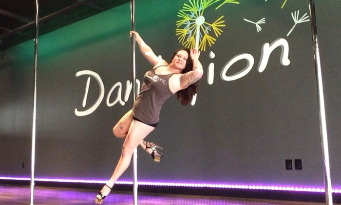 Dandelion Pole and Fitness - Deerfield Trace South: Three Dance Classes from Dandelion Pole and Fitness (75% Off)