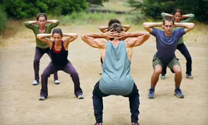 Inland Empire Boot Camp - Multiple Locations: Four-Week Fitness or Pain-Release Boot-Camp Course at Inland Empire Boot Camp (Up to 90% Off)
