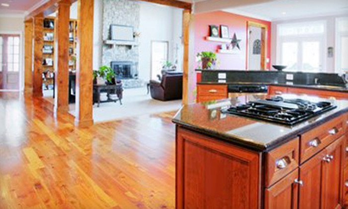 Wentico & Company - Indianapolis: Hardwood-Floor Refinishing for Up to 200 or 600 Square Feet from Wentico & Company (Up to 59% Off)