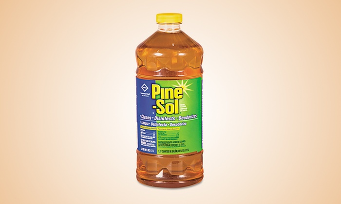 6-Pack of Pine-Sol Multi-Surface Cleaner: 6-Pack of Pine-Sol Multi-Surface Cleaner