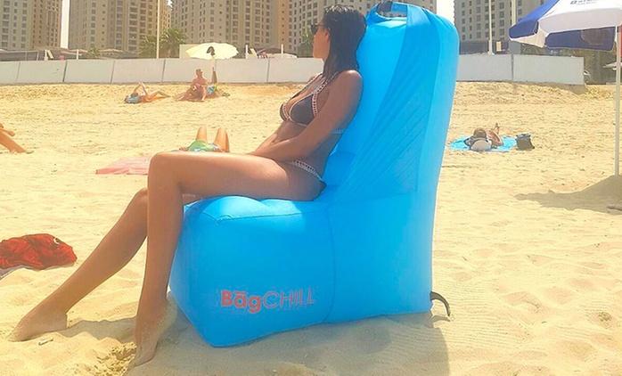1 ou 2 fauteuils gonflables ChairChill, plusieurs couleurs au choix