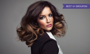 Tropez Salon & Spa: Blow Dry with Single-Process Color, Partial Highlights, or Full Highlights at Tropez Salon & Spa (Up to 49% Off)