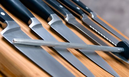 image for Knife Sharpening for 5 or 10 Knives at Ace Hardware (Up to 56% Off)
