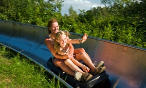 Zoo & Sommerrodelbahn in der Wingst: Zoo-Eintritt oder Rodelbahnkarte
