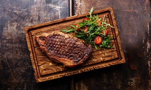 West 14th: Steakhouse Meal for Two or Four with Optional House Beverages at West 14th (Up to 46% Off)